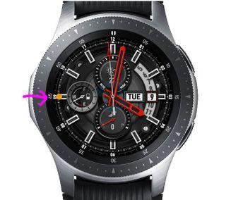 Benachrichtigungs-Anzeige auf Galaxy Watch.JPG