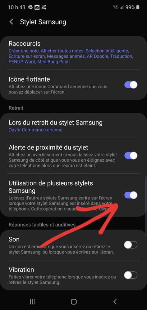 Use many Samsung 's stylus