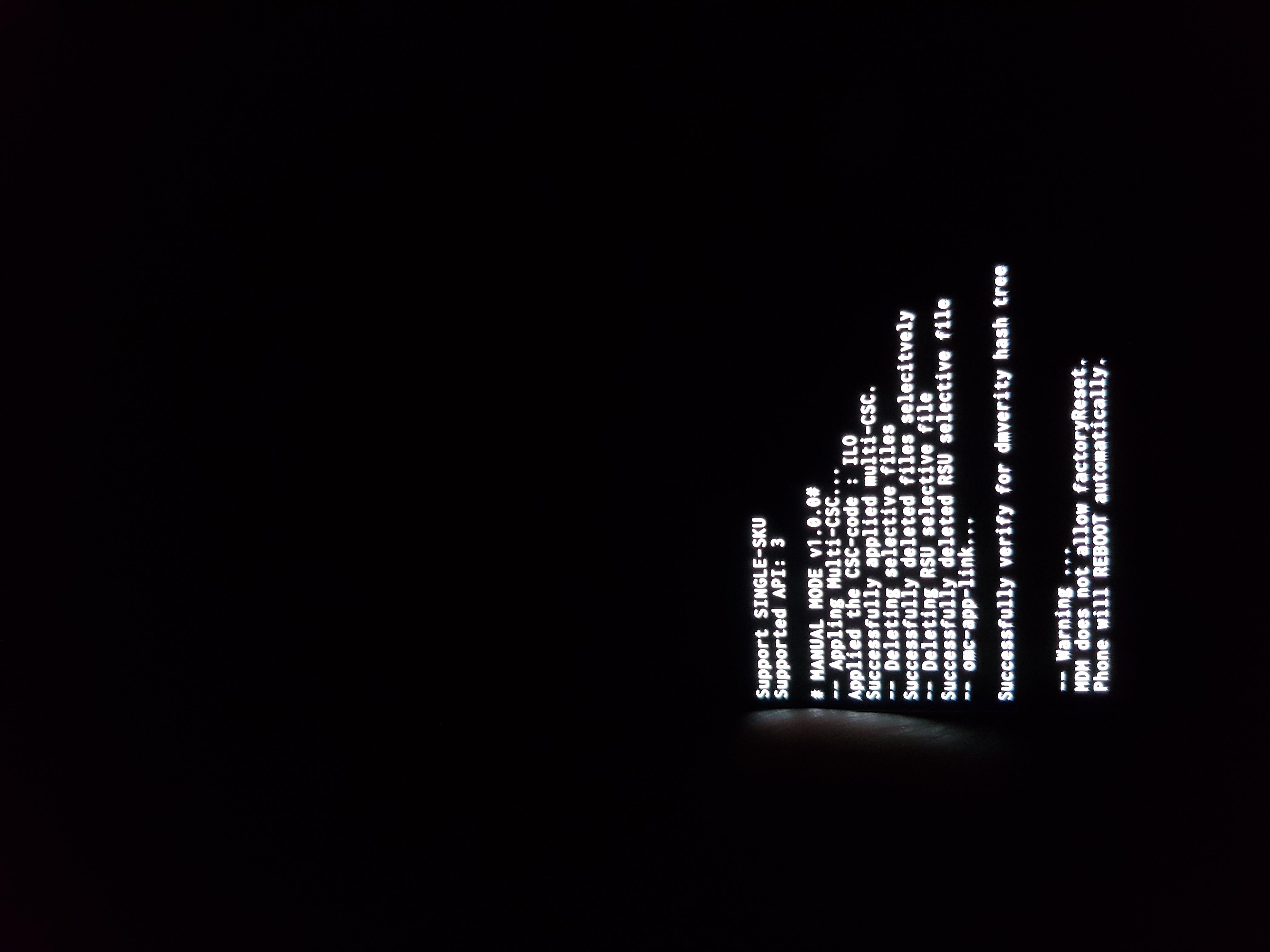 Mot de passe s8 oublié avec probleme de MDM - Samsung Community