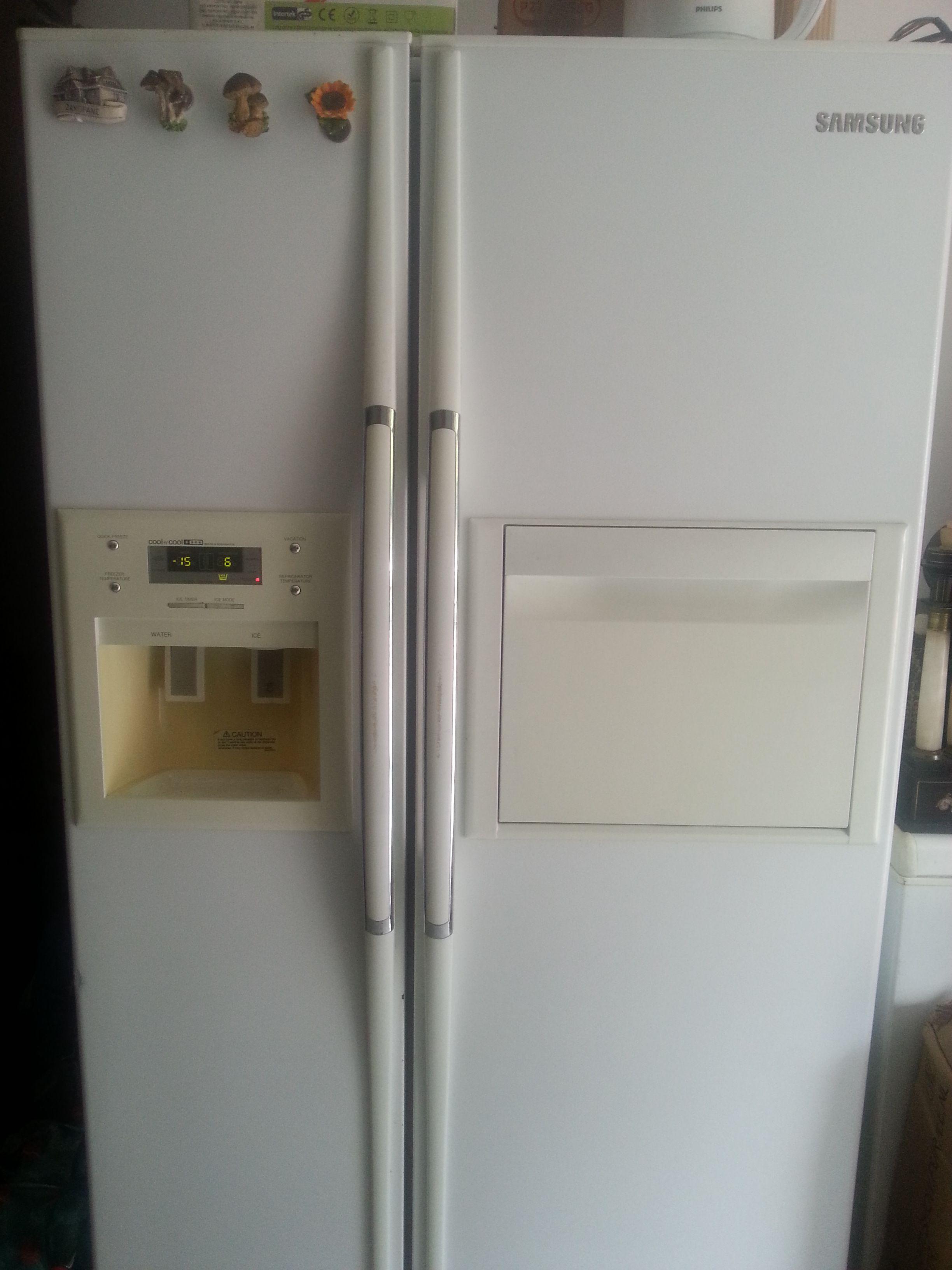 Come Pulire Un Frigorifero Usato ghiaccio nella parte del frigo samsung cool n' cool