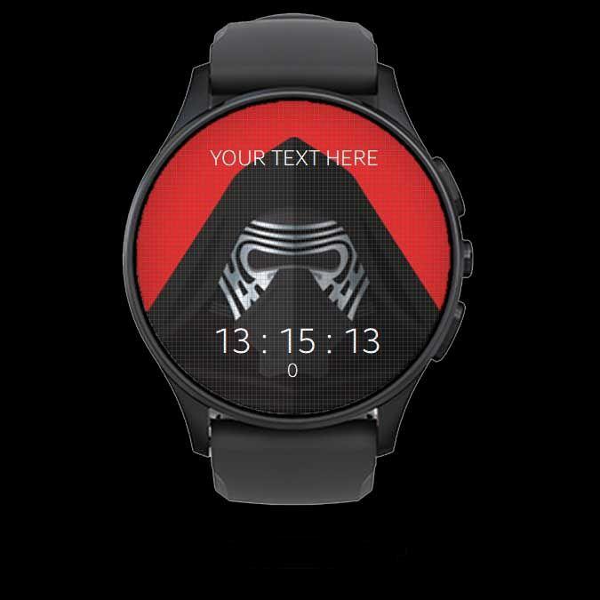 Kyloren Watch Face