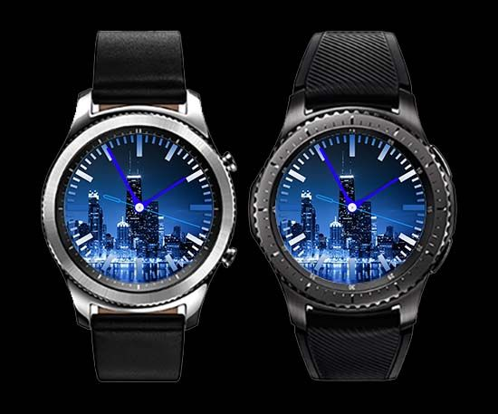 Chicago Watch Face