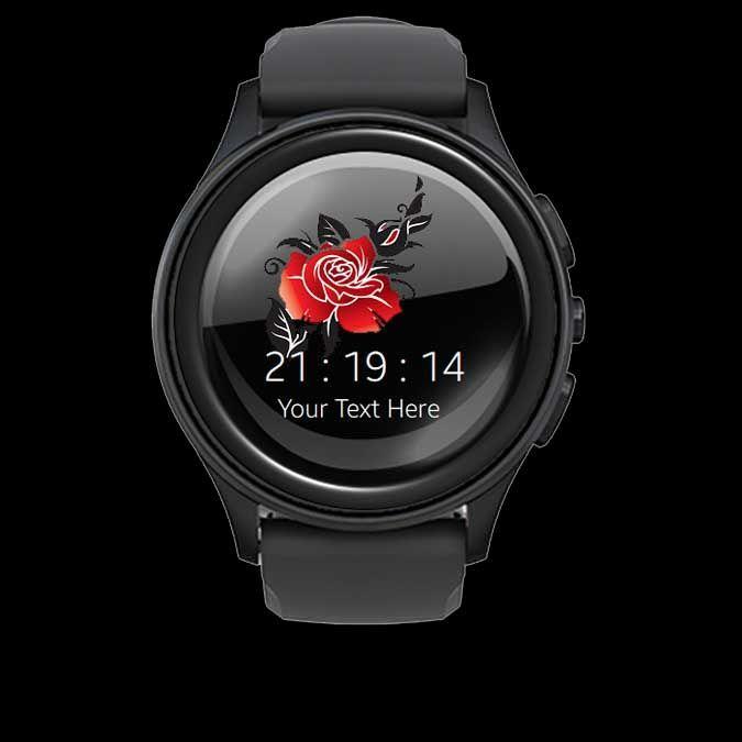Rose Tatoo Watch Face