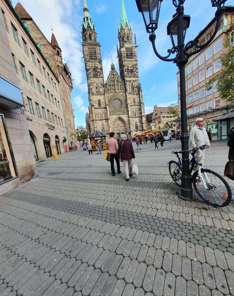 These pics were took by me in Nuremberg Germany
