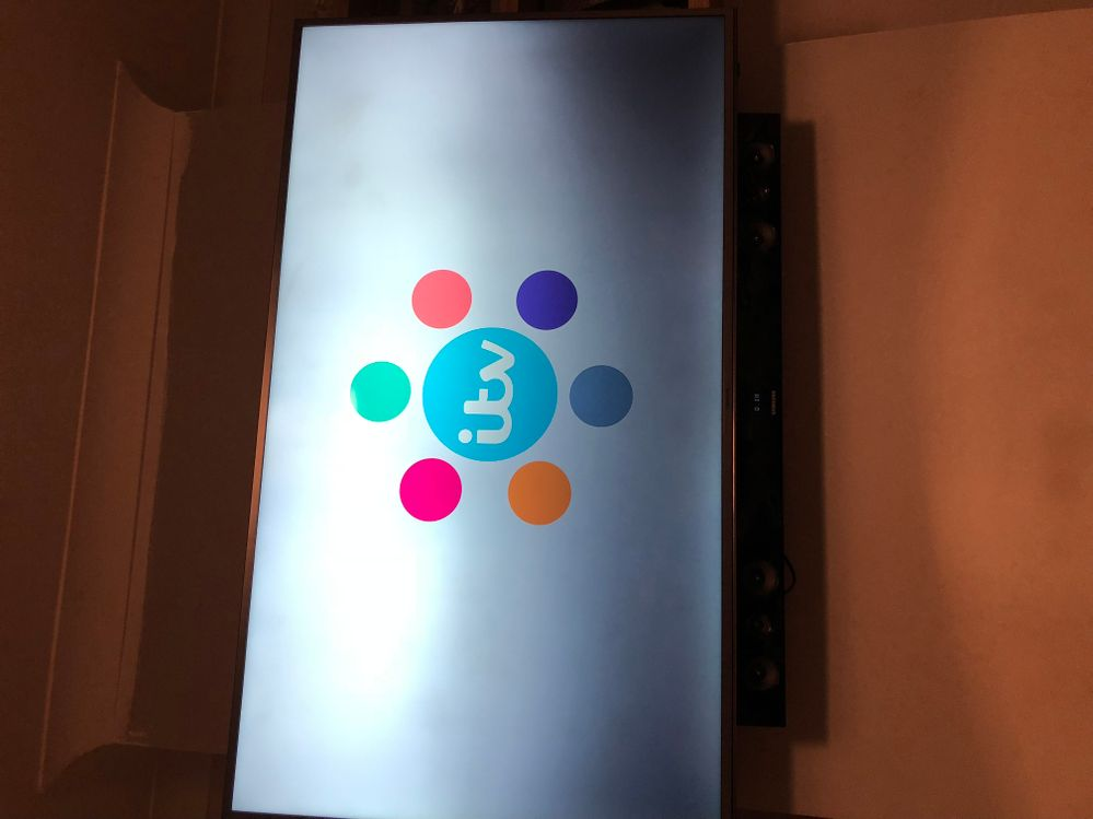I also have a problem I used the itv hub to show the whole bottom half has a dark shadow