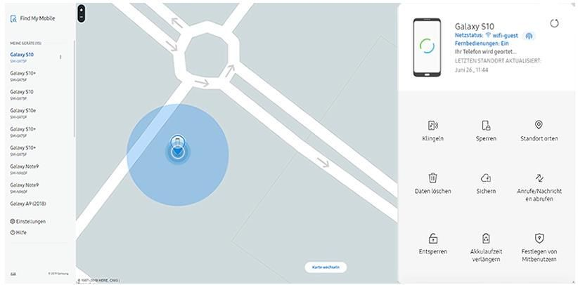 Funktionen per Fernzugriff_Find My Mobile.JPG