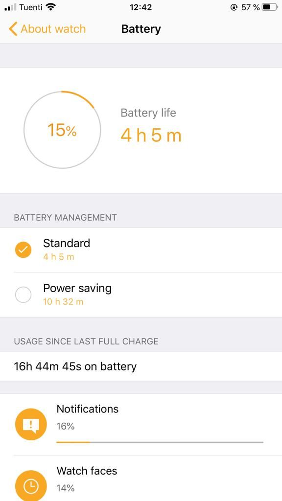 Solved Watch Active Insane Battery Drain After Update Samsung Community