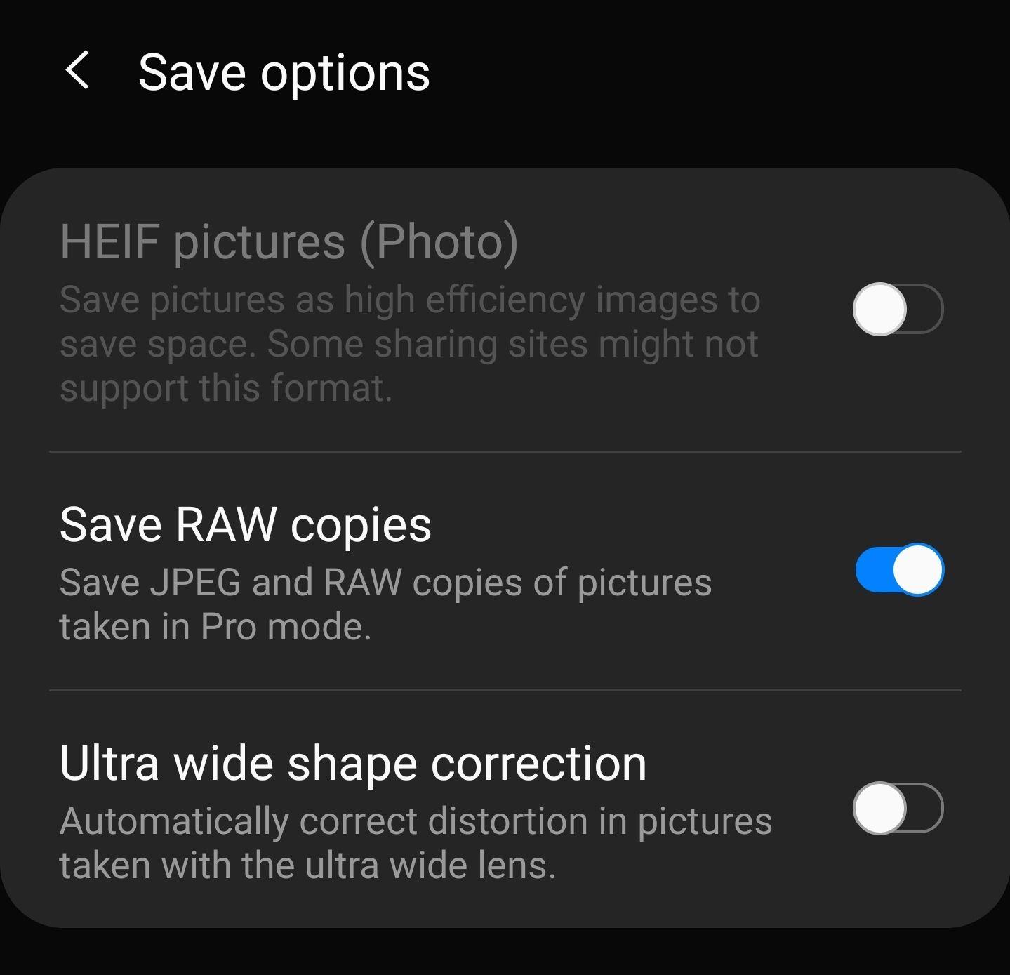 S20 Ultra Camera Raw Support Samsung Community