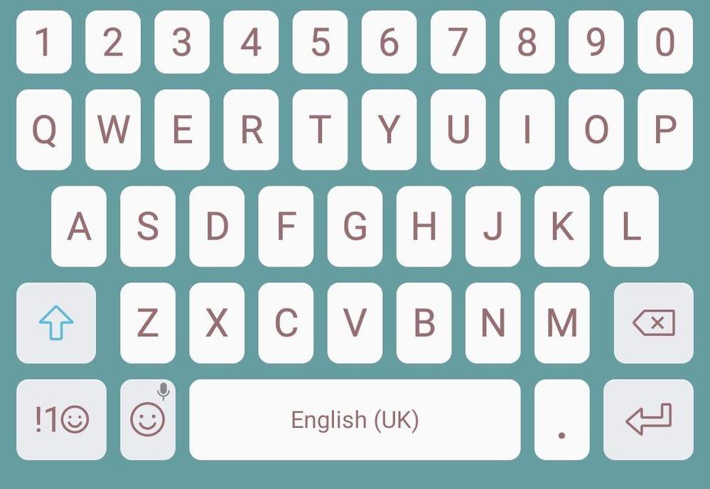 S7 keyboard