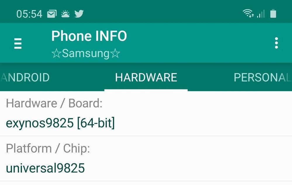 Screenshot from phoneinfo.