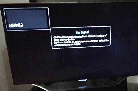 All HDMI ports no signal (ES8000) - Samsung Community