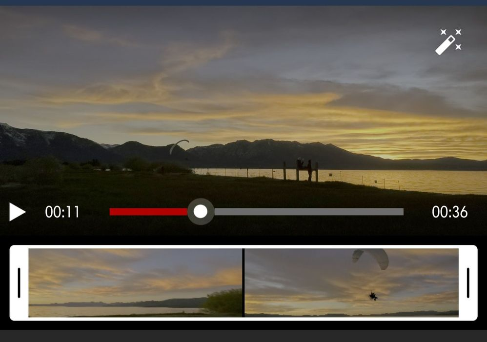 HDR video upload preview on Youtube.