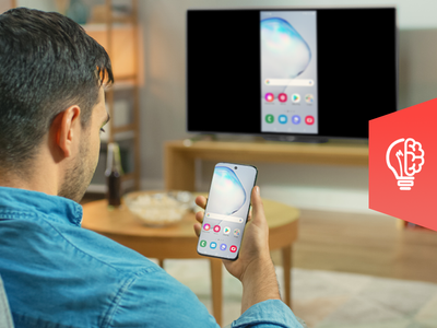 View a smartphone on your TV