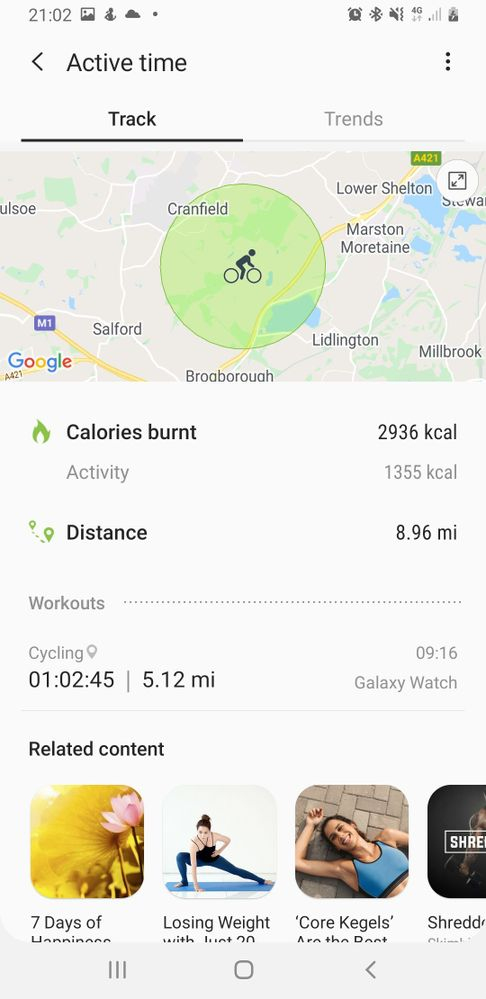 Calories burnt not accurate