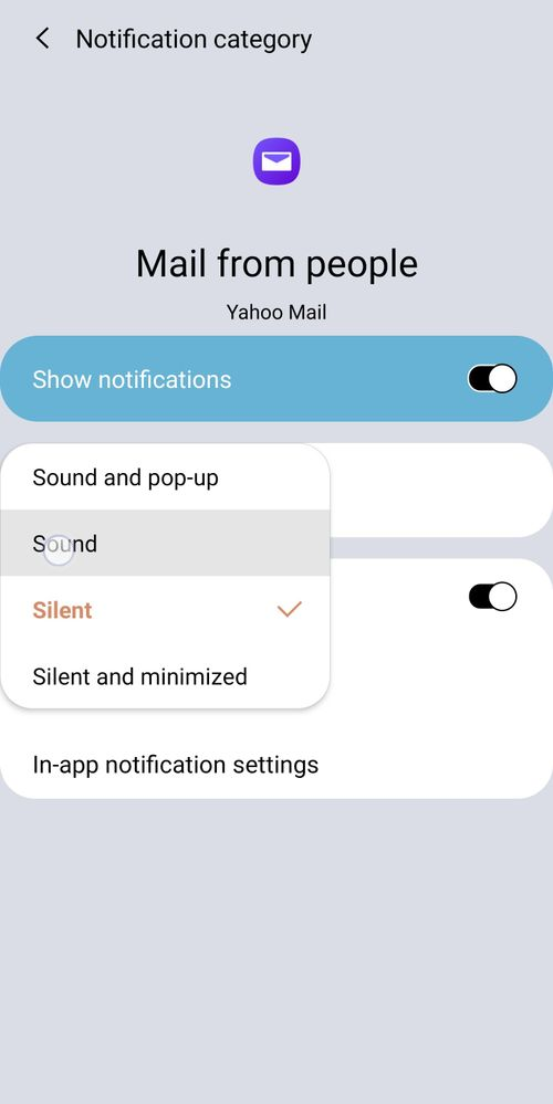 Make sure silent in off and you selected sound