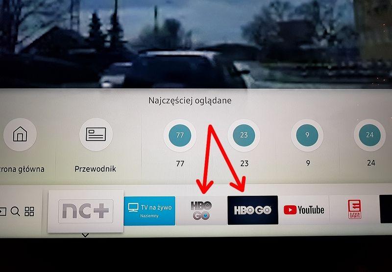 HBO GO - dwie wersje aplikacji - Samsung Community