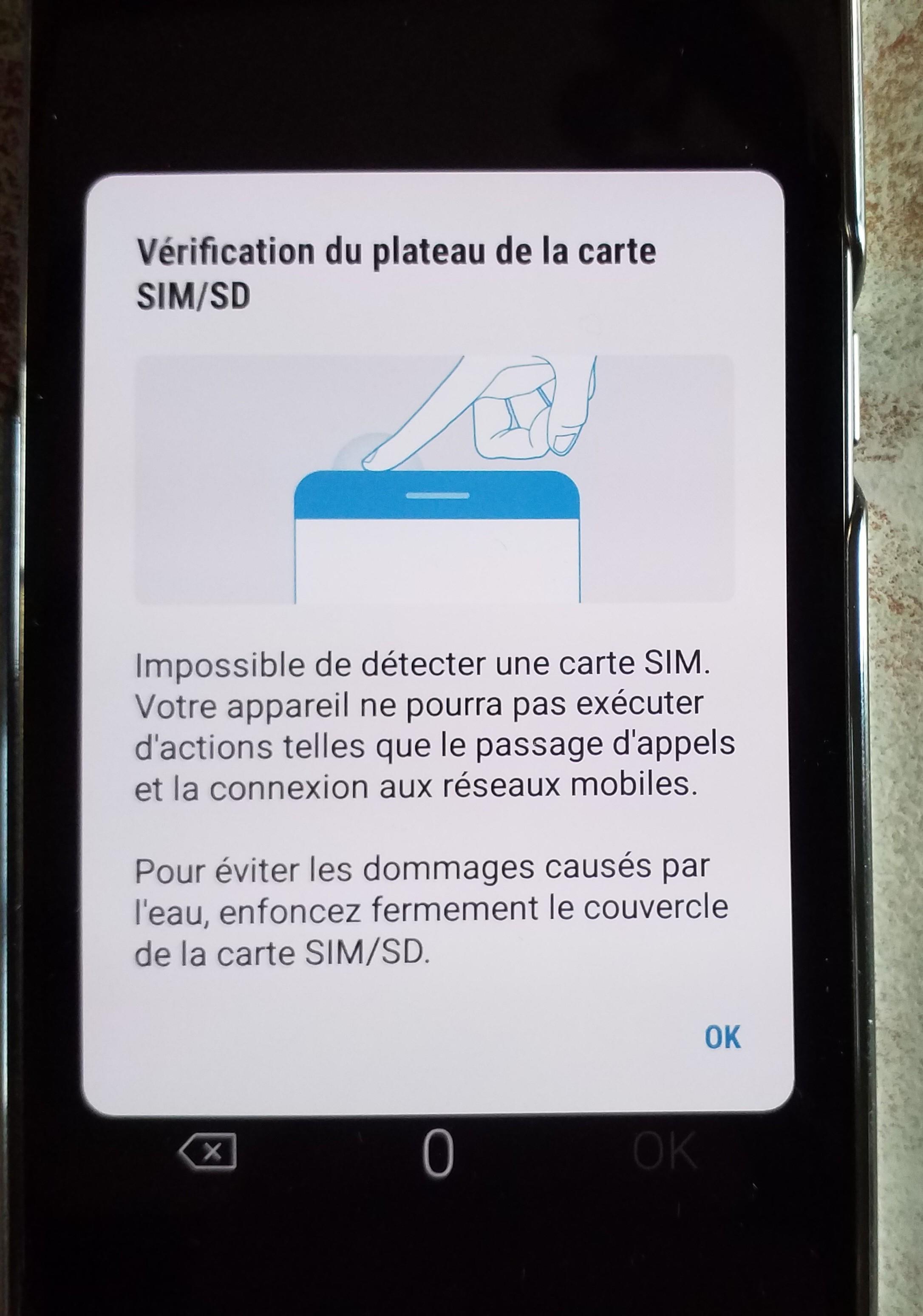 mon telephone samsung ne detecte pas ma carte sd bizarerie avec carte sim   Samsung Community