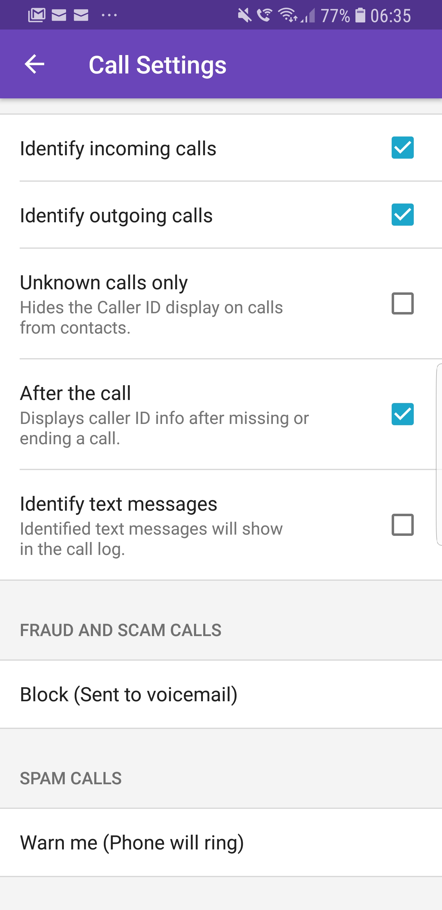 S9+ no missed call alerts - Samsung Community