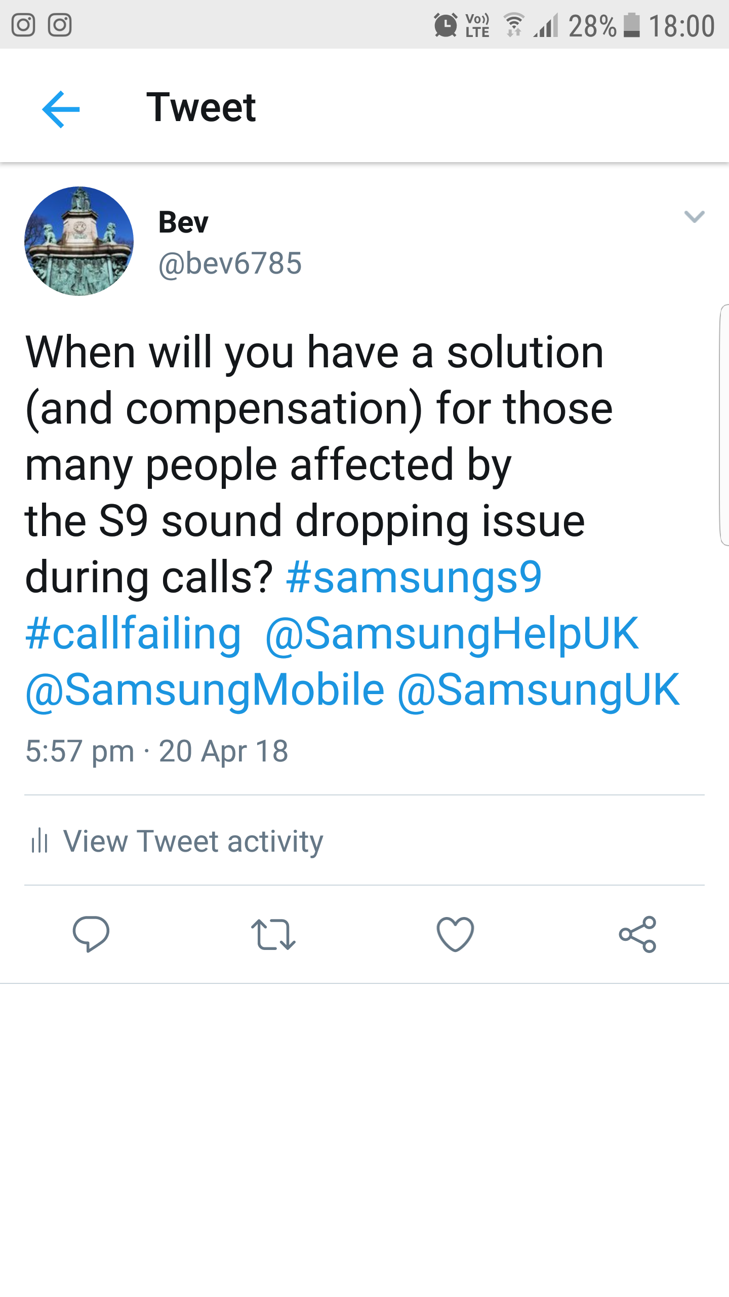 S9 speaker phone cutting out on call - Samsung Community