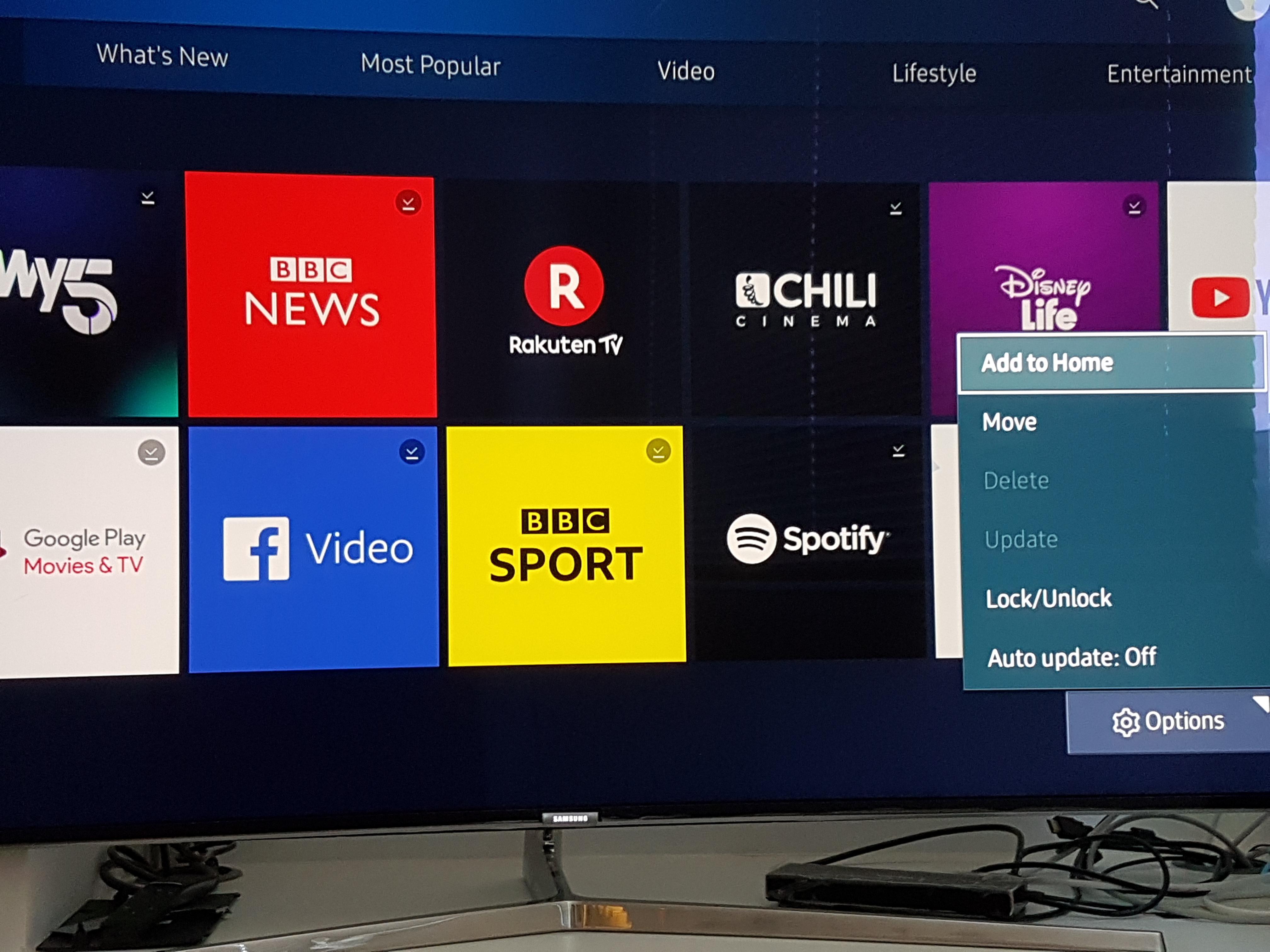 How do i delete or block bloatware apps on smart tv