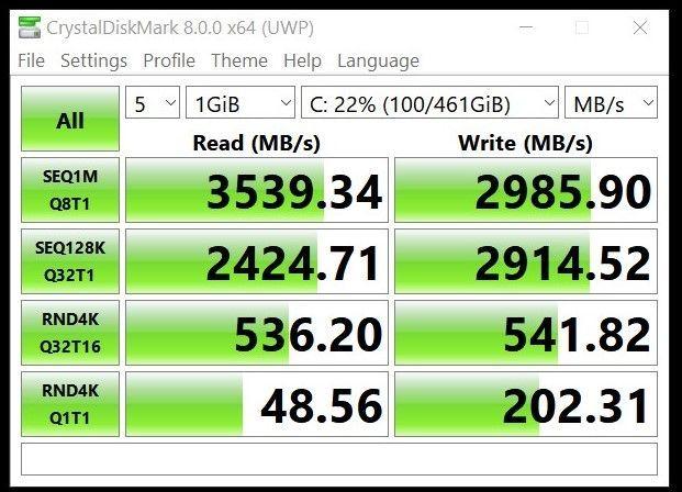 After (Samsung NVMe driver V3.3)