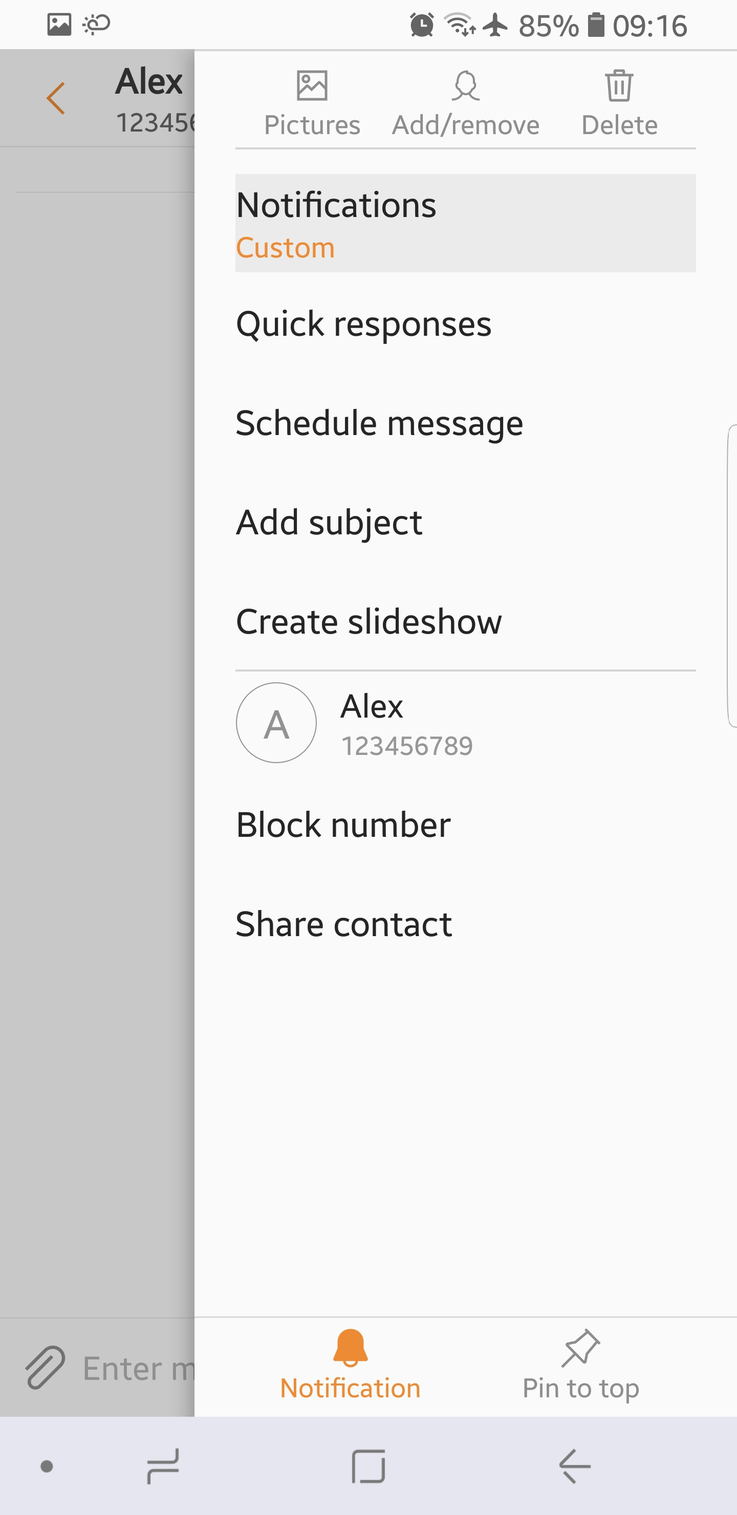 Bring back the individual text tones and notifications on S9