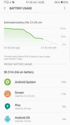 Cell Standby/Android System/Google Play Services battery