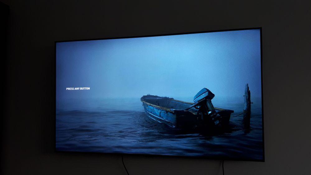 PS5 Last of Us 2 start screen