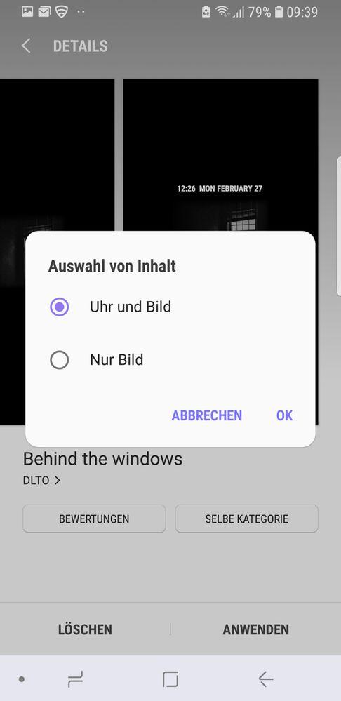 Samsung hintergrundbilder loschen