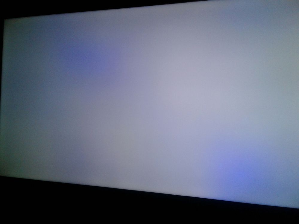 PURPLE SPOTS on Samsung 4k LED UHD TV SCREENS - Samsung