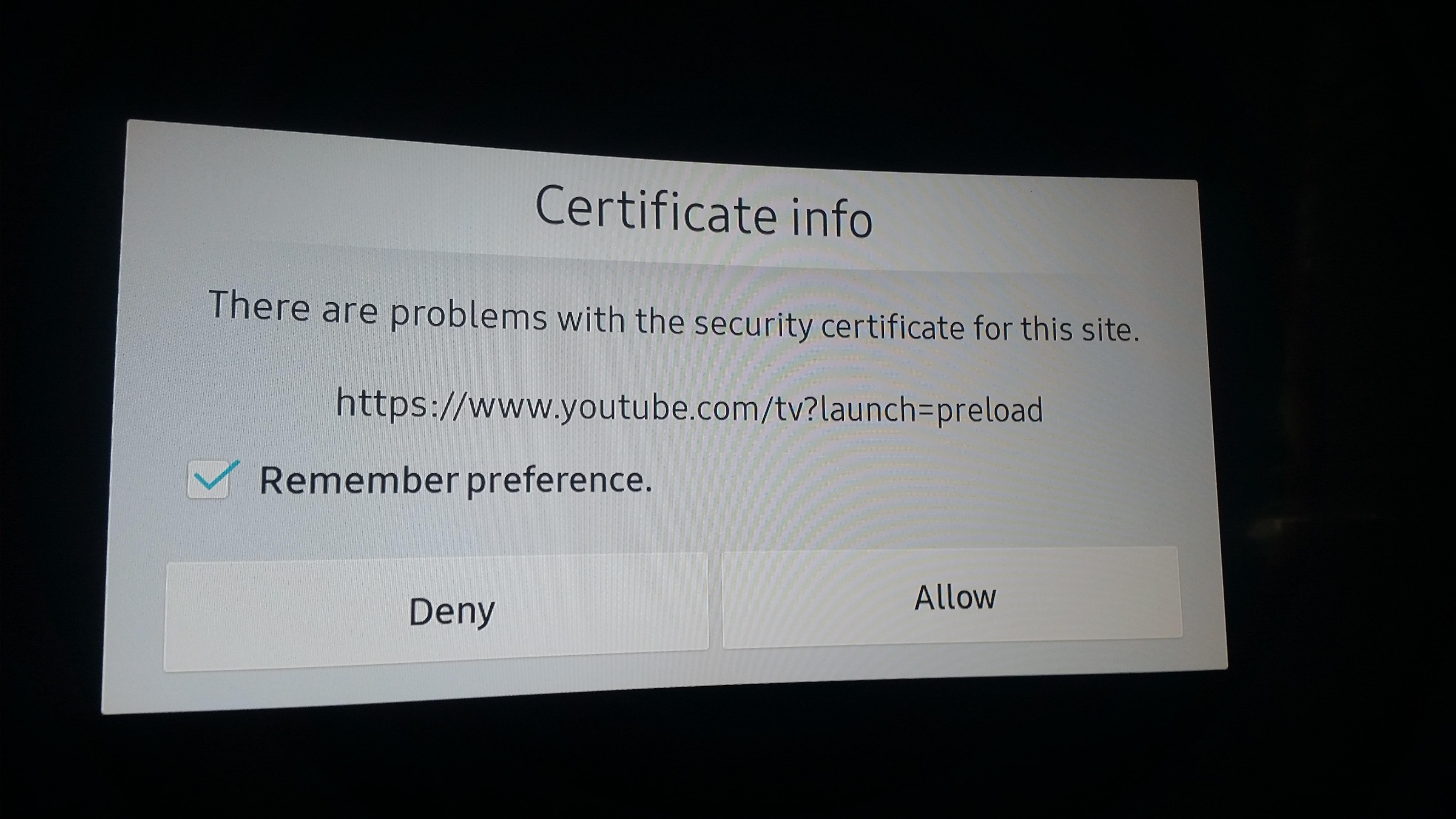 Rozwiązano: Nie działa Youtube na SmartTV - Samsung Community
