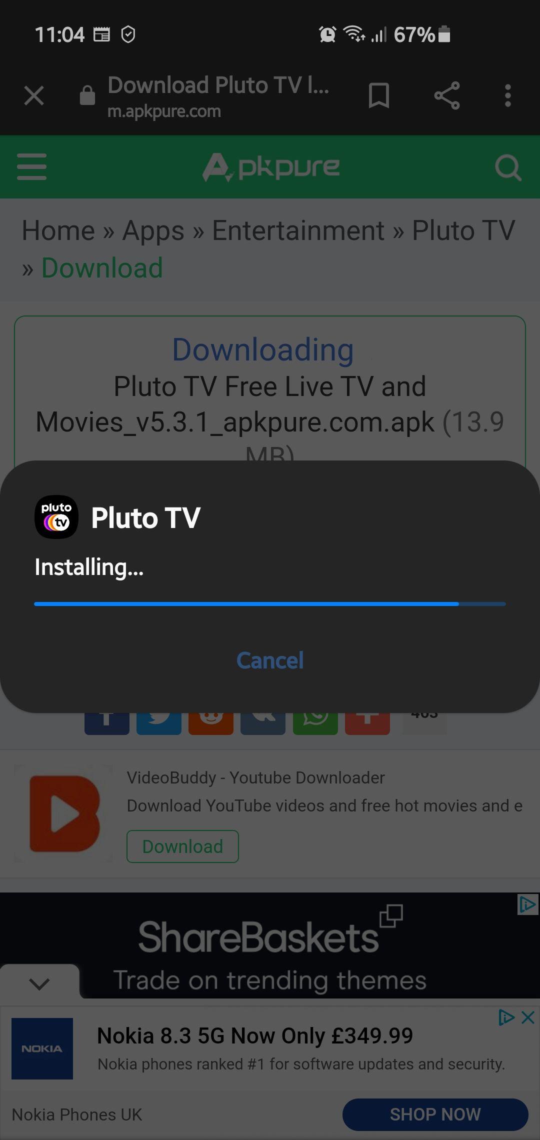 PLUTO TV ON SAMSUNG TIZEN