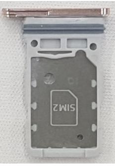 Rear facing view SIM card tray: SIM 2