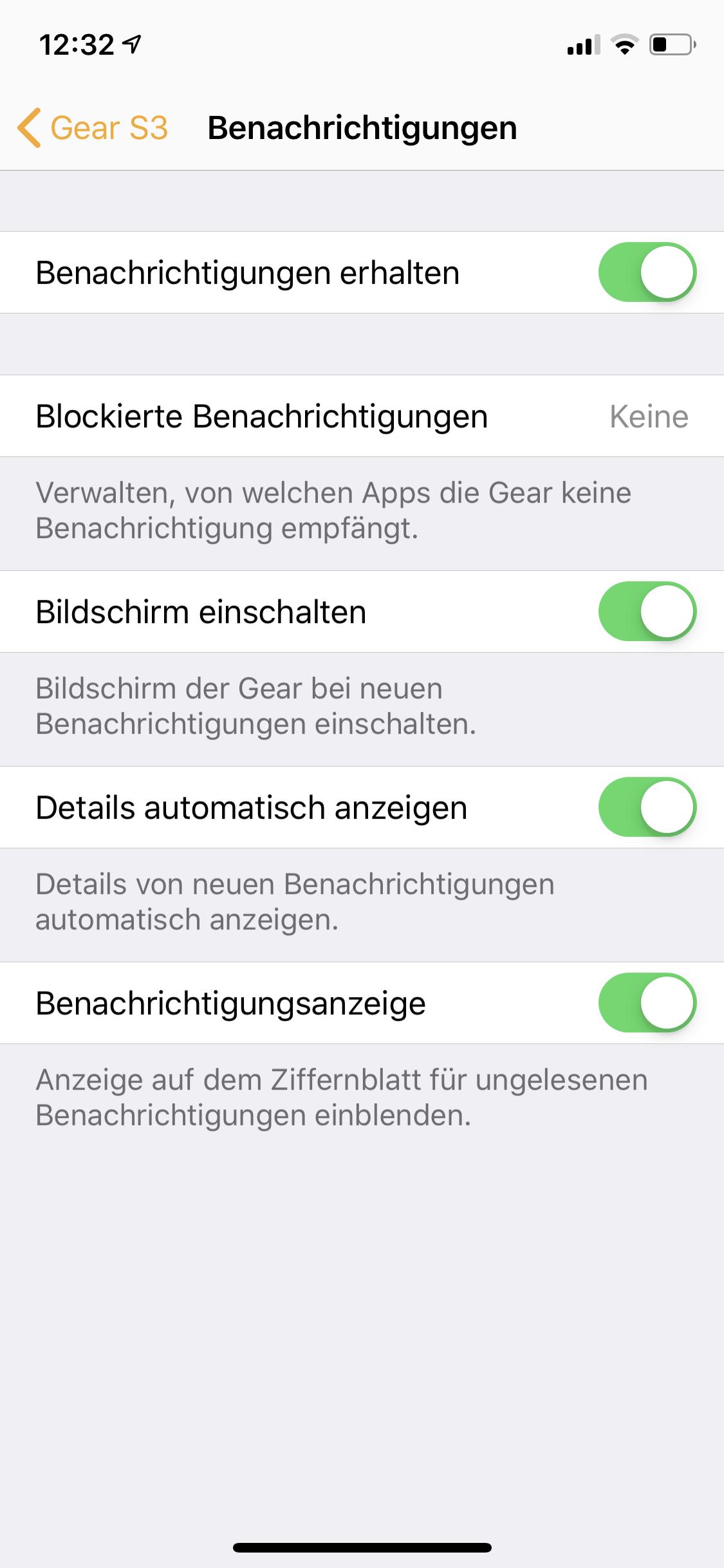 Gear S3 Whatsapp Antworten
