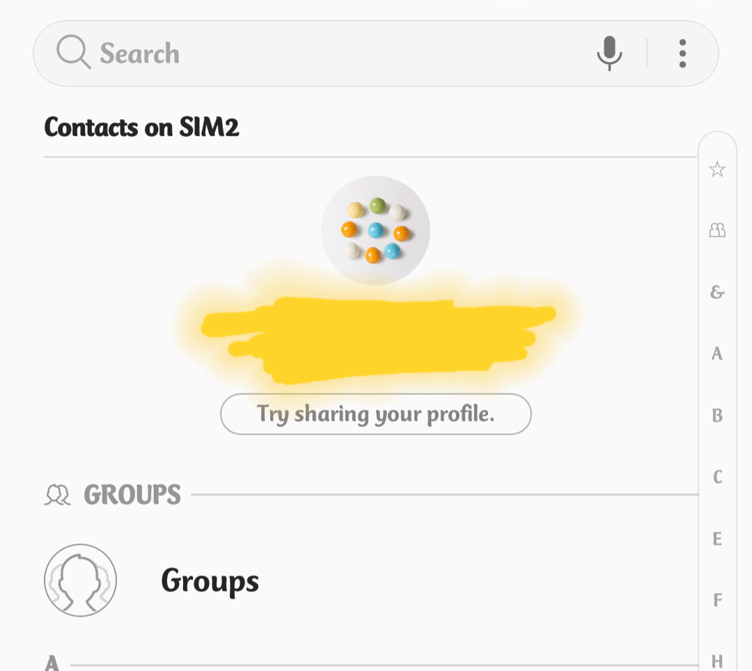 Solved: Contact Groups Disappeared with latest android update