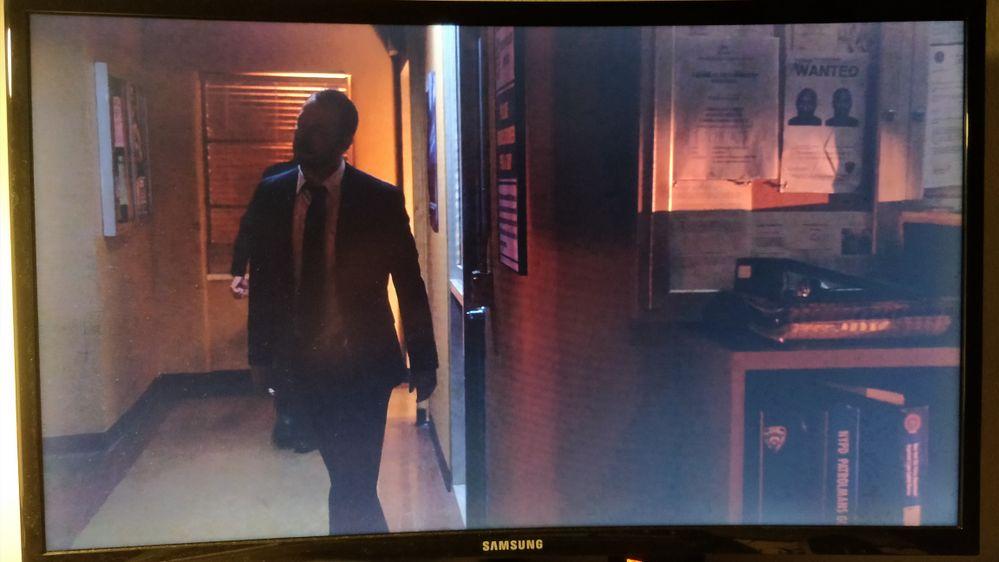 Dark scene monitor