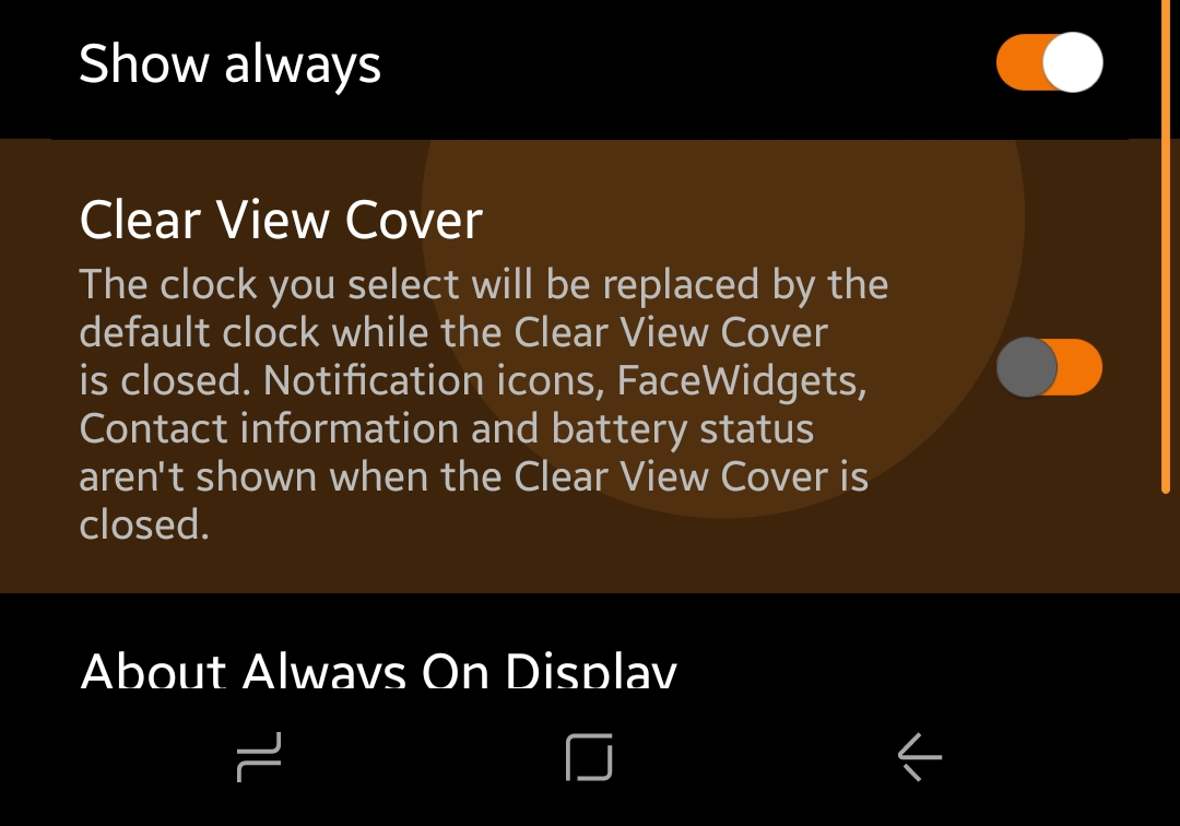 quality design 4f747 336a8 Clearview cover s8+ - Samsung Community