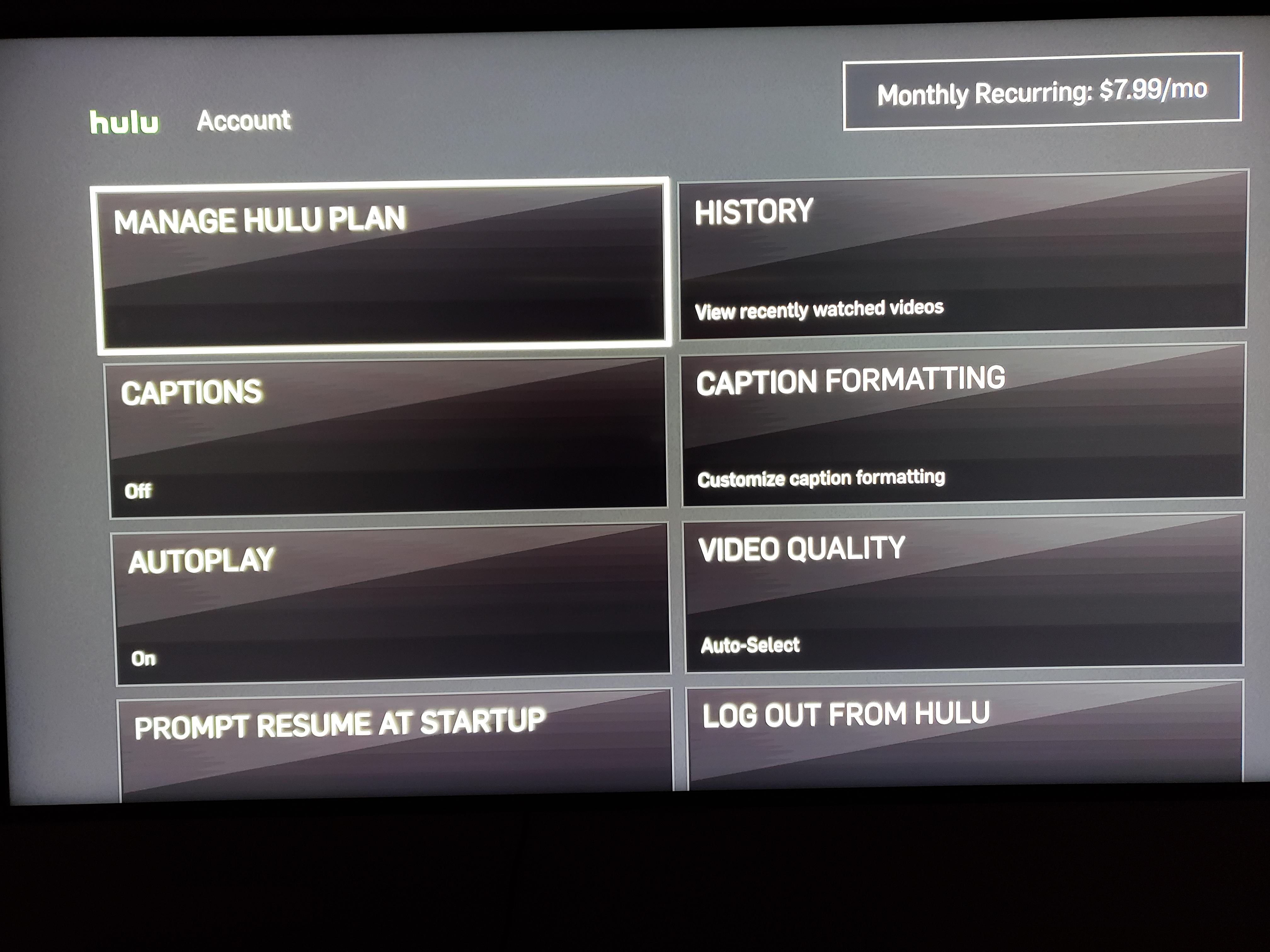 Switch Profile On Hulu Plus App - Samsung Community