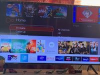 these are the apps currently on the home screen, the tv app  our freesat tv  is missing
