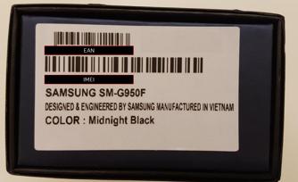 Waar Vind Je Ean Op Samsungs S9