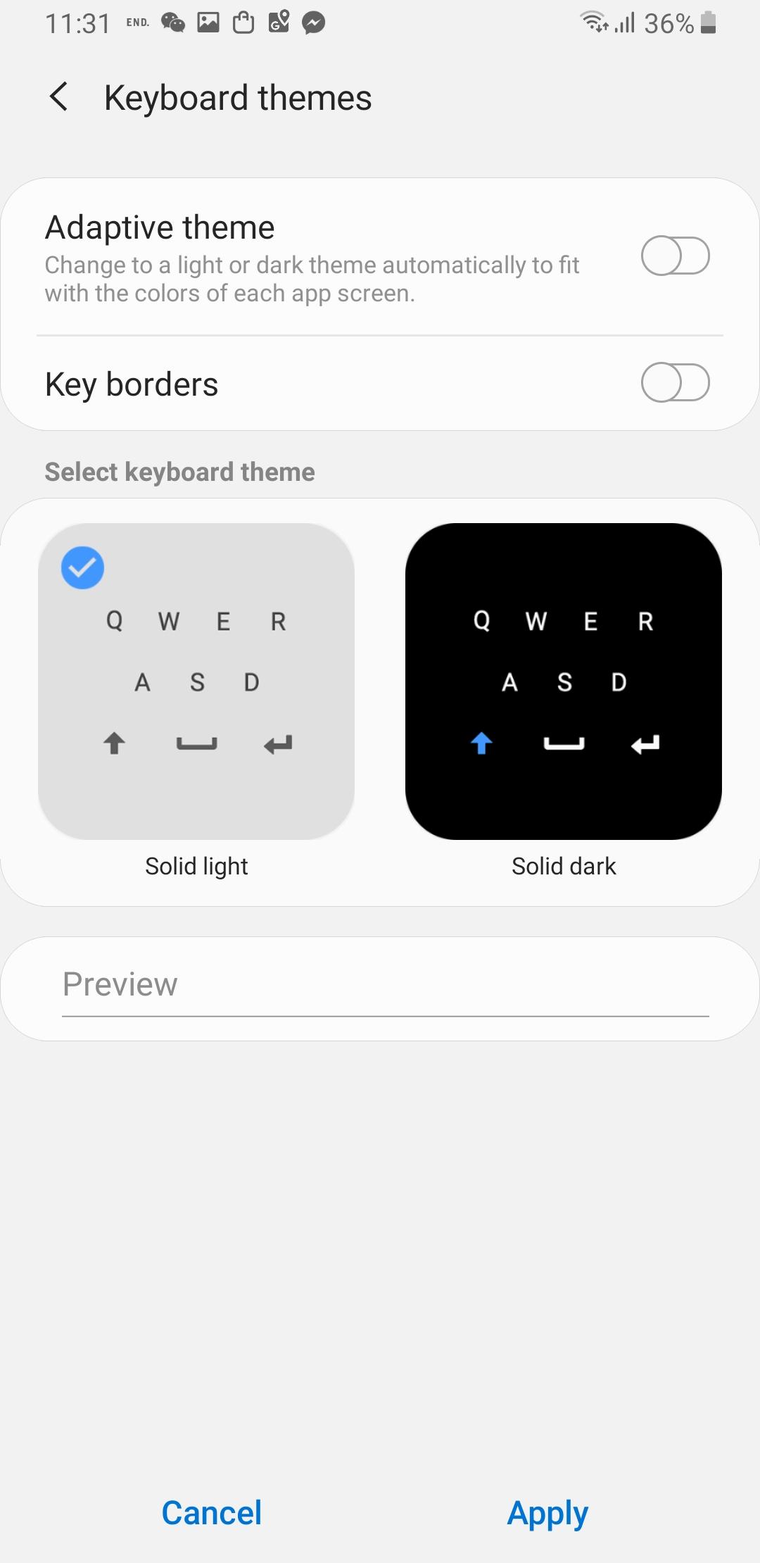 Keyboard on S9+ UI changed itself - Samsung Community