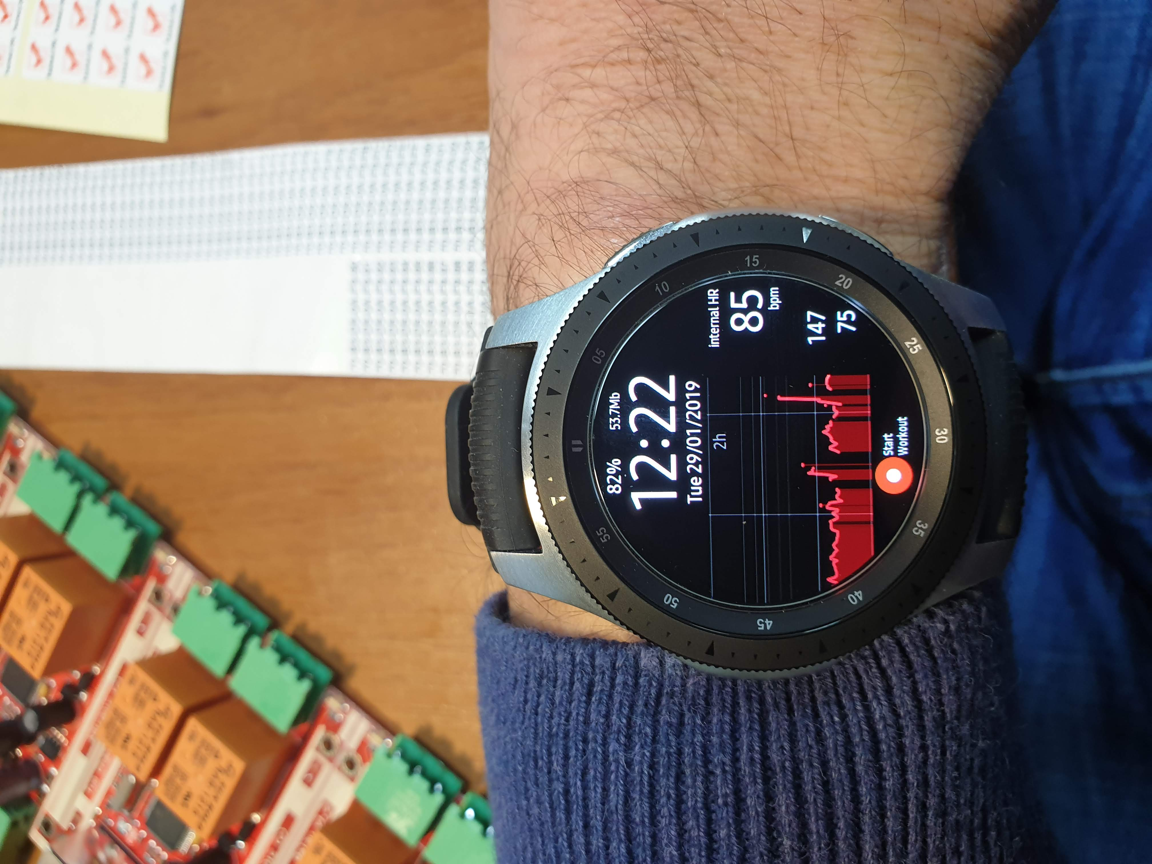 Galaxy Watch not measuring Heart rate - Samsung Community