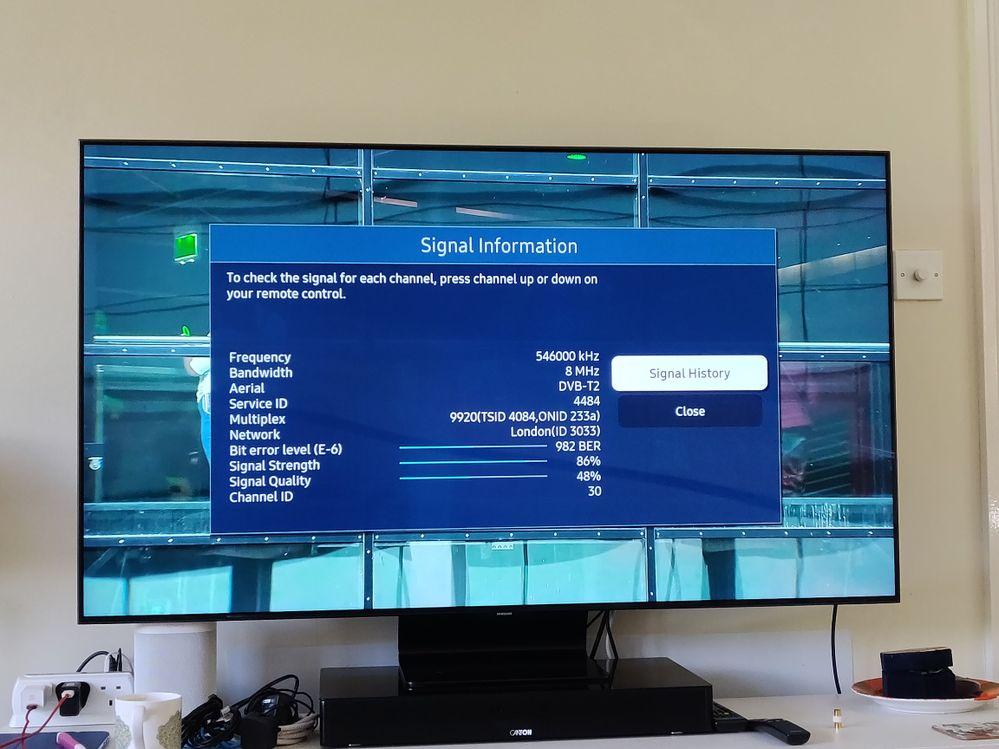 TV BBC1 HD signal info