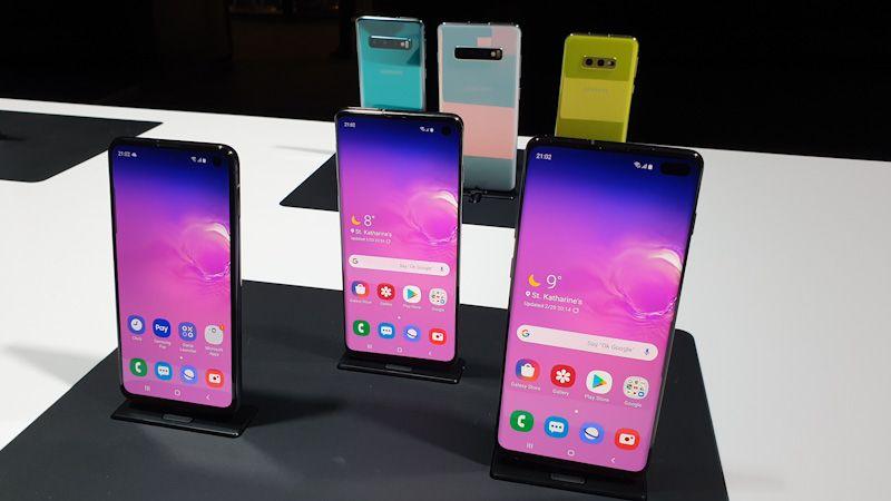 Galaxy S10e, S10 oraz S10+ podczas Galaxy Unpacked 2019