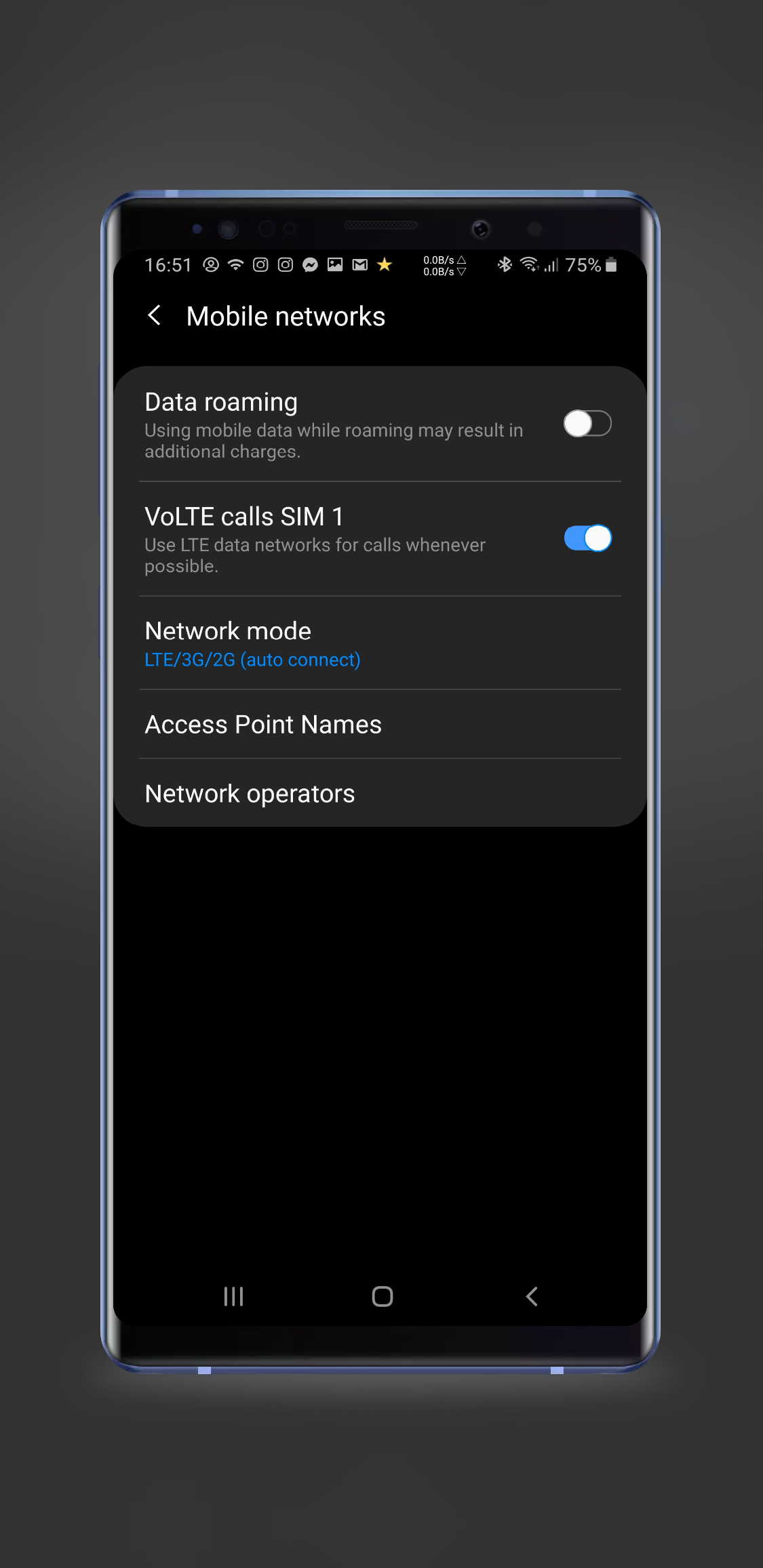 Solved: No Internet acces during a call after upgrade at OneUI