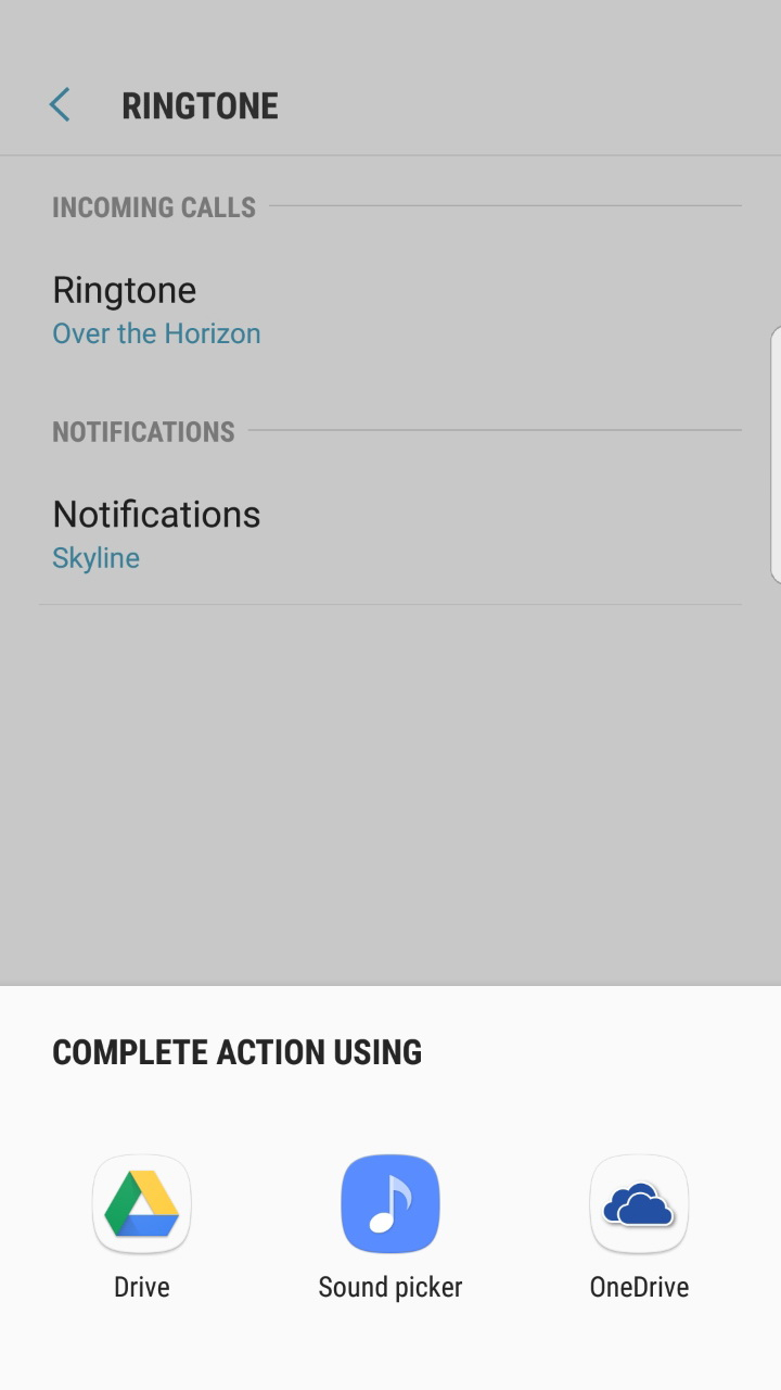 Solved: Can't change ringtone - Samsung Community