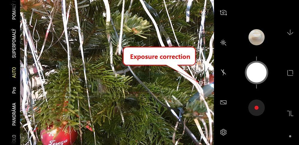 Exposure compensation