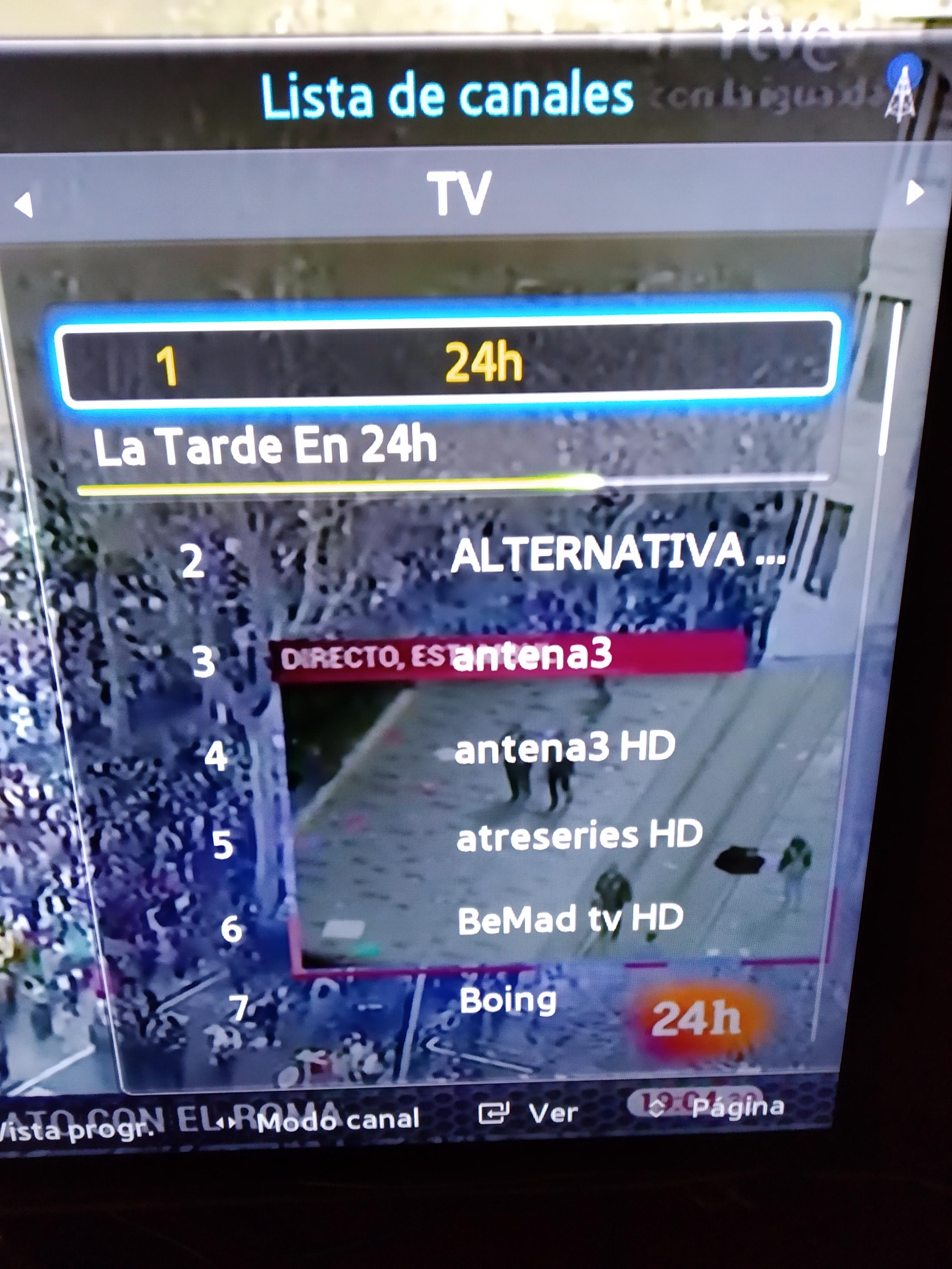 Solucionado Tv Samsung Antigua Cómo Ordenar Canales Samsung Community