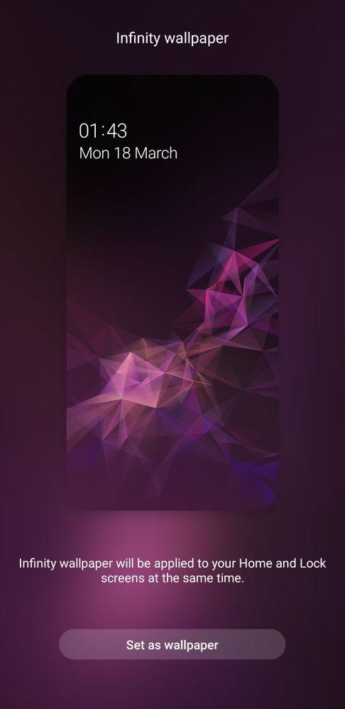 Infinity Wallpaper