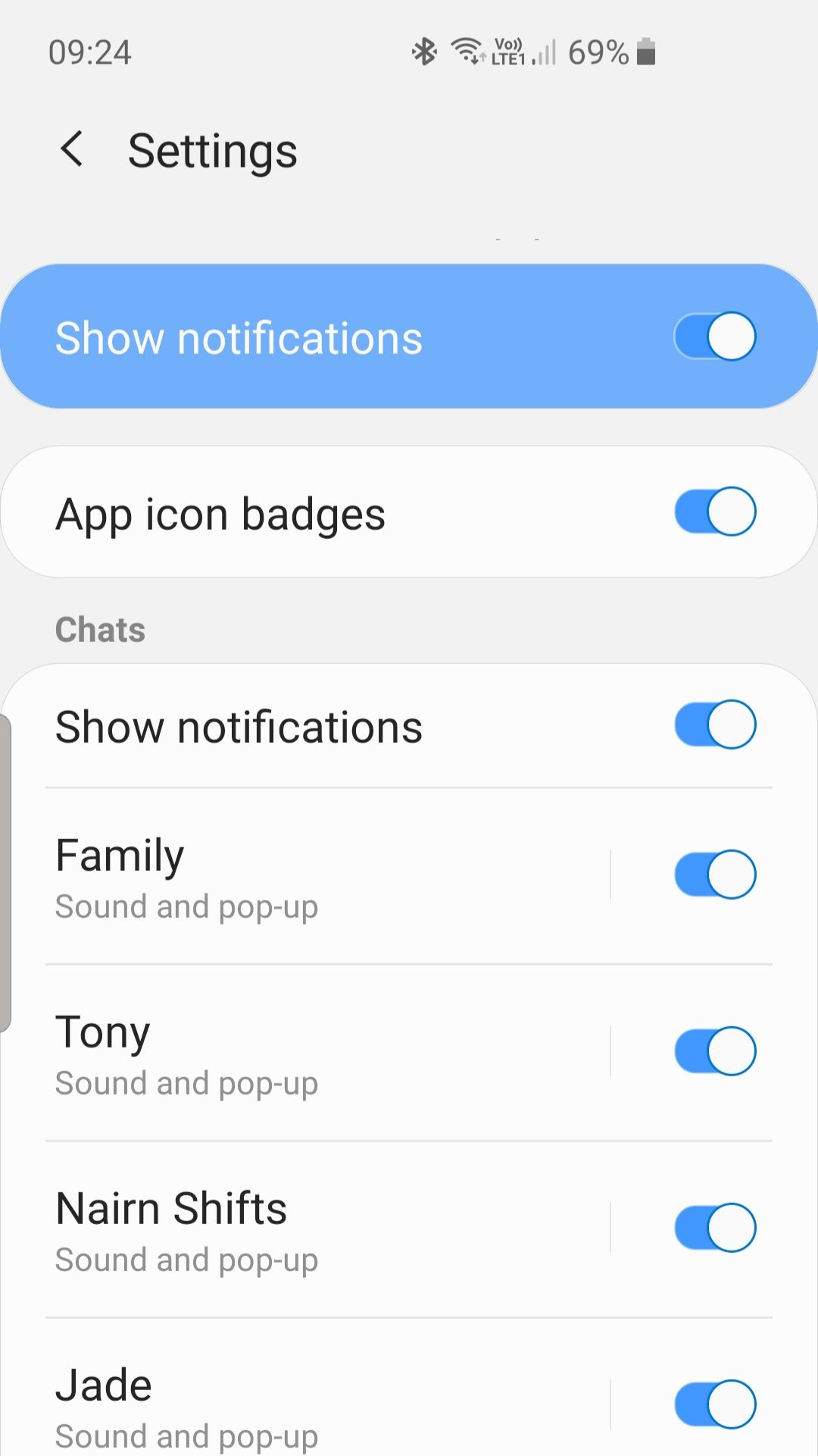 Solved Not Getting Whatsapp Notifications Consistent With